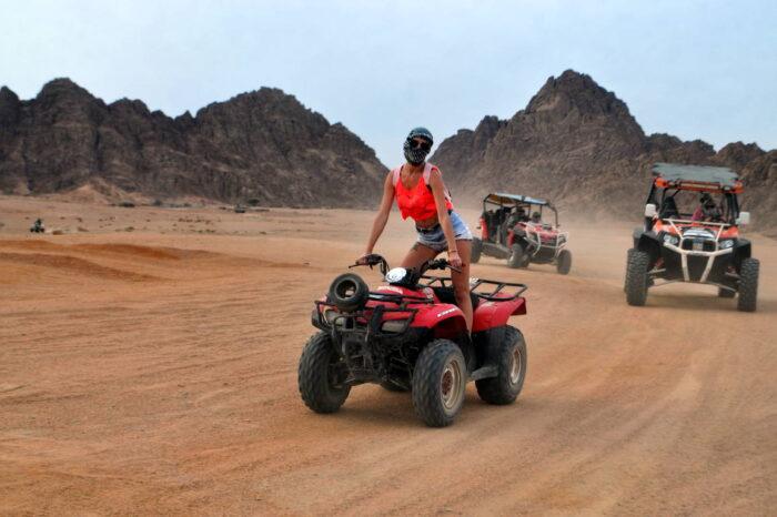 Motorata nel deserto di Sharm el sheikh